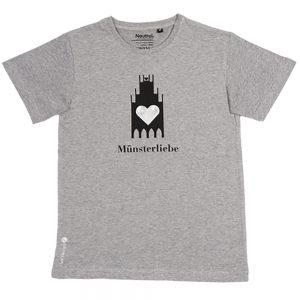 T-Shirt Münsterliebe Kinder,Jungs Rundhals